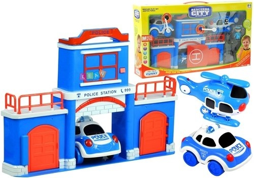 Posterunek Policji Samochód Policyjny