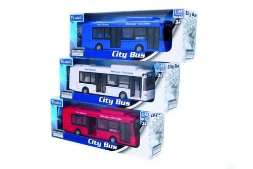 Teama autobus miejski niebieski 1:48