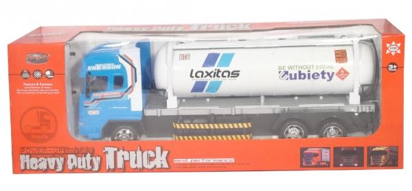 Ciężarówka cysterna sterowana pilotem
