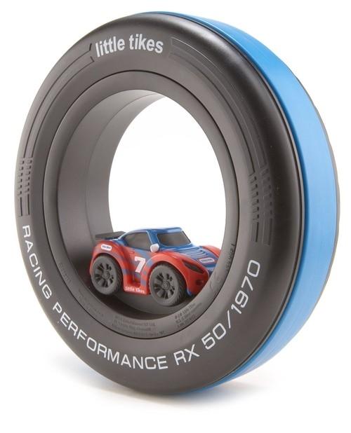 Wheelz Tire Racers Czerwona wyścigówka