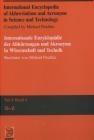 Int Enc of Abbrev Michael Peschke