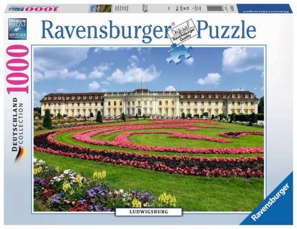 Puzzle 1000 elementów - Zamek w Ludwigsburgu (198788)