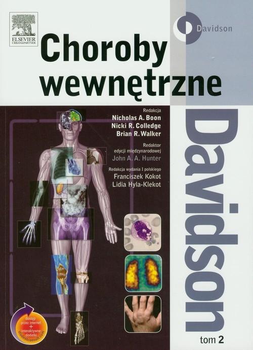Davidson Choroby wewnętrzne Tom 2 Boon Nicholas A., Colledge Nicki R., Walker Brian R.,