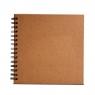 Album na spirali Happy Color, 30 arkuszy 30x30cm - brązowe Eco (445153)