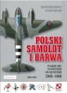 Polski samolot i barwa (Uszkodzona okładka)