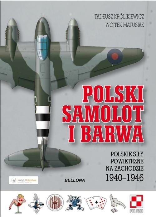 Polski samolot i barwa (Uszkodzona okładka) Królikiewicz Tadeusz, Matusiak Wojtek