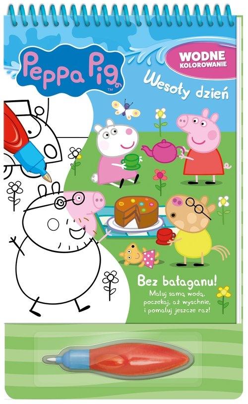 Peppa Pig Wodne kolorowanie. Wesoły dzień.