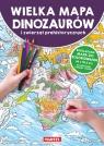 Mapa Dinozaury i zwierzęta prehistoryczne