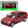 WELLY BMW X6, czerwony (WE24004)