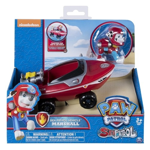 Psi Patrol Sea Patrol pojazd z figurką Marshall