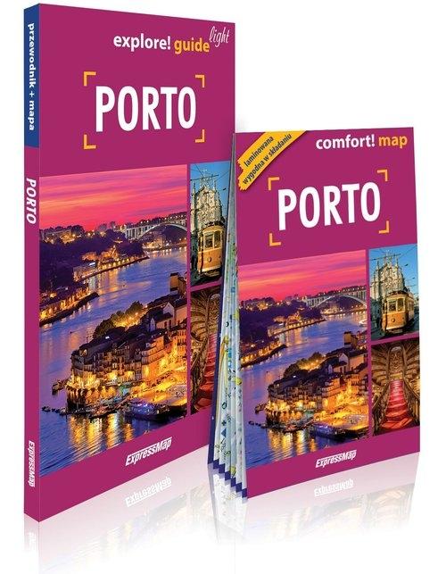 Porto light przewodnik + mapa Andrasz Janusz