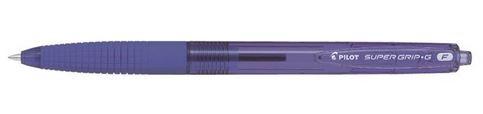 Długopis automatyczny Super Grip G (F) fioletowy
