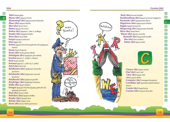 Mój pierwszy słownik niemiecko-polski, polsko-niemiecki Golis Adrian