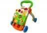 Pchacz edukacyjny z pianinkiem pomarańczowo-zielony Wiek: 9 mies.+
