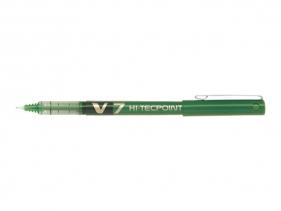 Cienkopis kulkowy Pilot Hi-Tecpoint V7 zielony (BX-V7-G)
