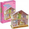 PUZZLE 3D Domek dla lalek Sara (P678H)