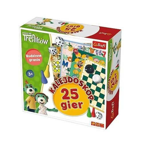 Kalejdoskop 25 gier - Rodzina Treflików (01678)
