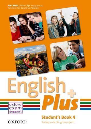 English Plus 4 Podręcznik Wetz Ben, Pye Diana, Quintana Jenny
