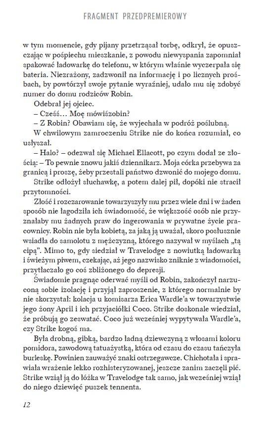 Zabójcza biel. Robert Galbraith (J.K. Rowling)