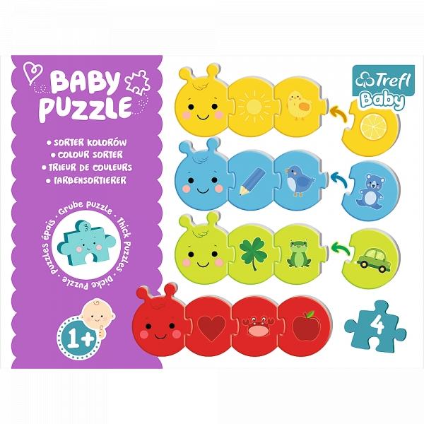 Puzzle Baby Classic: Sorter kolorów (36079)