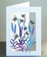 Karnet PM179 wycinany + koperta Pszczoły