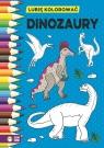 Dinozaury Lubię kolorować Kolorowanka