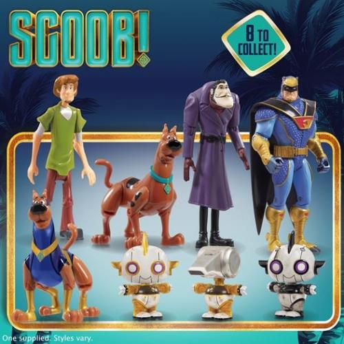 Scooby-Doo Figurki ast.