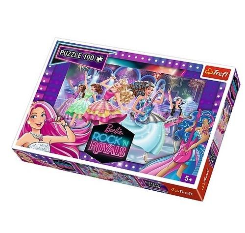 Puzzle Barbie Królowe rocka 100 (16279)