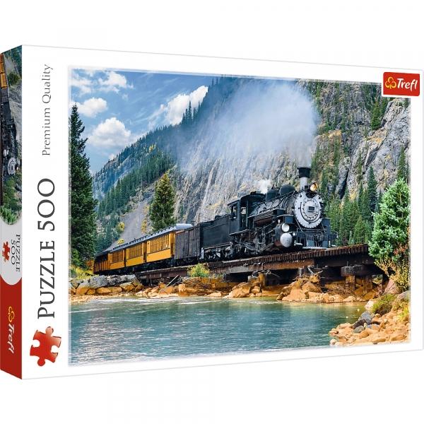 Puzzle 500: Górski pociąg (37379)