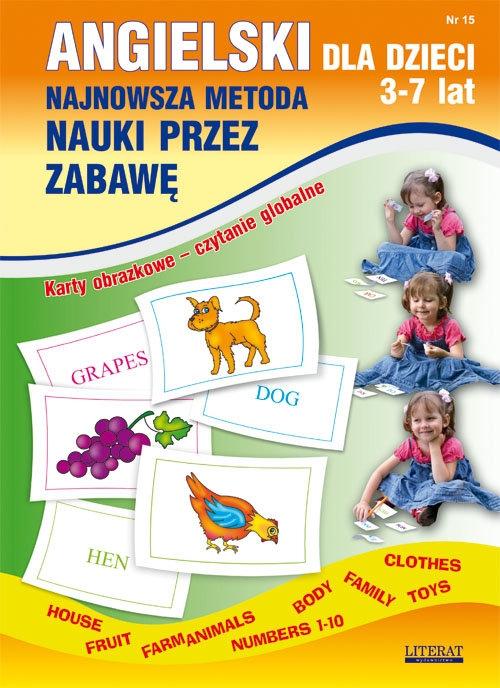 Angielski dla dzieci 3-7 lat Zeszyt 15 Piechocka-Empel Katarzyna