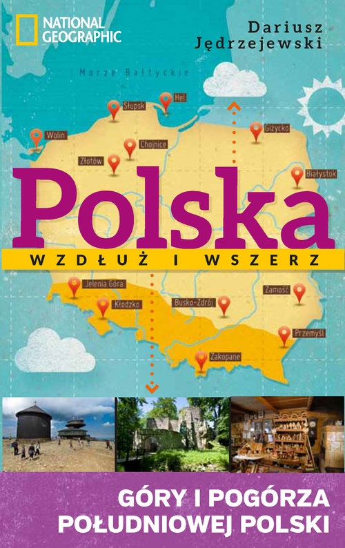 Polska wzdłuż i wszerz Jędrzejewski Dariusz
