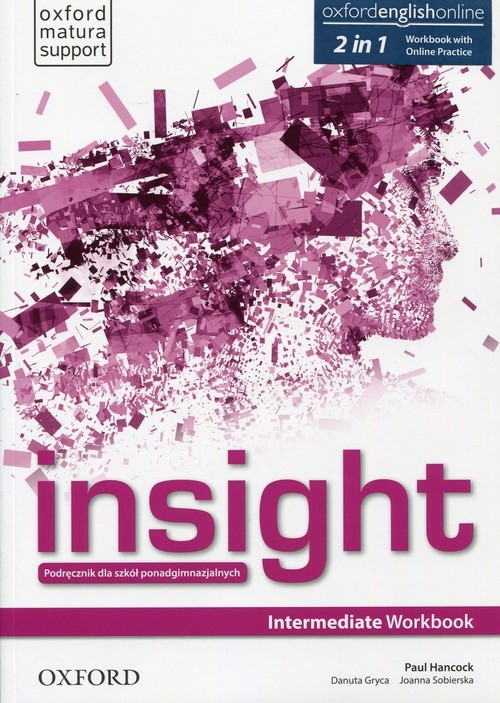 Insight Intermediate Workbook with Online Practice Jayne Wildman, Fiona Beddall