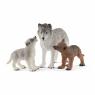 Samica wilka z młodymi - 42472