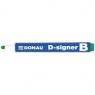 Marker suchościeralny Donau D-SIGNER zielony(7372001-06PL)