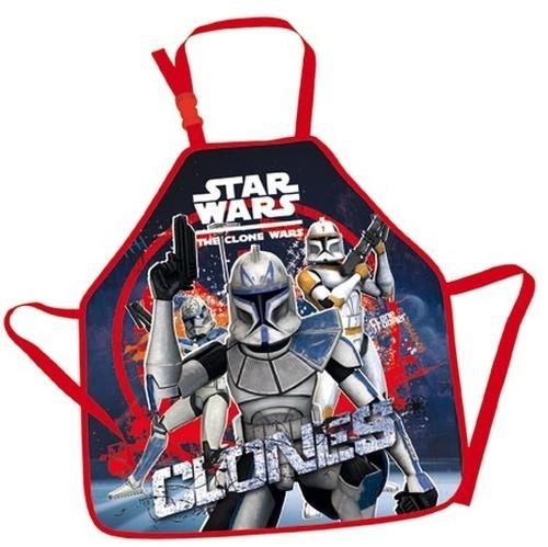 Fartuszek do prac plastycznych Star Wars Clone Wars