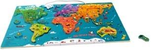 Top Bright Magnetyczna mapa świata (5132957 ; 5134791)