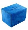 Ekskluzywne pudełko Sidekick Convertible na 100+ kart - Niebieskie (00791)