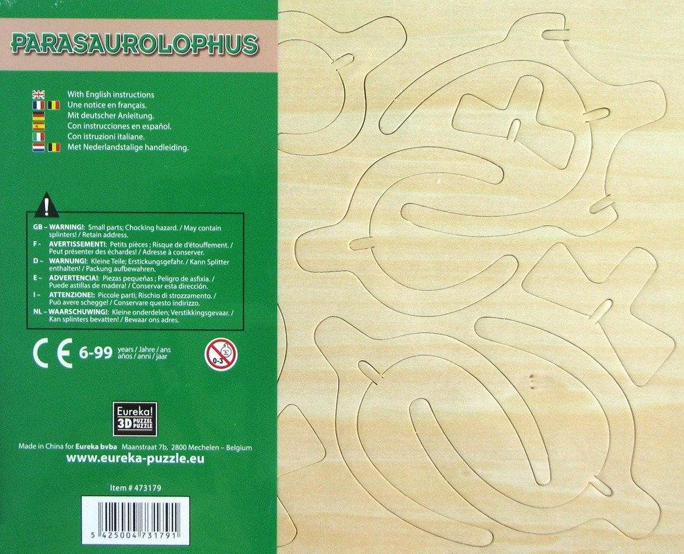Łamigłówka drewniana Gepetto - Parazaurolof (106152)