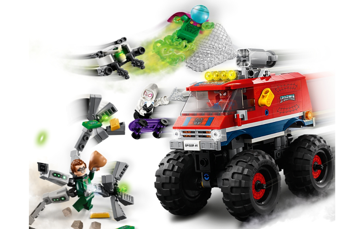Lego Marvel Spider-Man: Monster truck Spider-Mana kontra Mysterio (76174)