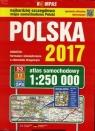 Polska 2017 Atlas samochodowy 1:250 000
