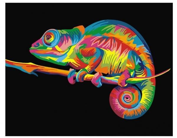 Obraz Malowanie po numerach - Kameleon (GX26199(BS26199))