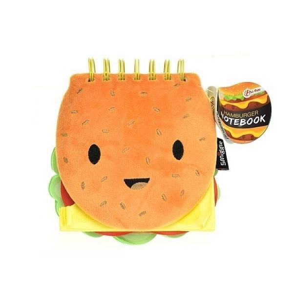 Notatnik Pluszowy hamburger TOITOYS (46279)