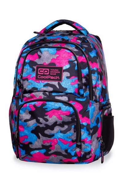 0651b0e82ef1f CoolPack - Aero - Plecak Młodzieżowy - Camo Fusion Pink (B34093 ...