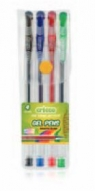 Długopisy żelowe 4 kolory (CR817W4)