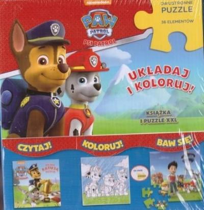 Psi Patrol. Drużyna marzeń (Książka + puzzle) praca zbiorowa
