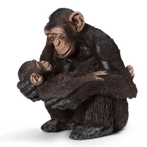 Szympansica z młodym new 2013 (14679)