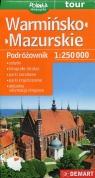 Warmińsko-mazurskie Podróżownik 1:250 000 Turystyczna mapa samochodowa