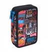 Coolpack - Jumper 2 - Piórnik podwójny z wyposażeniem - Basketball (C66231)