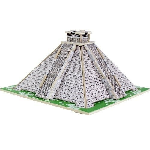 Puzzle drewniane 3D Piramida Majów