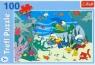 Smerfy Puzzle 100 Pod wodą (16179)